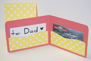 Dad's Gift Card Wallet