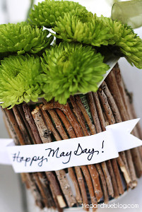 Mini May Day Recycled Vases