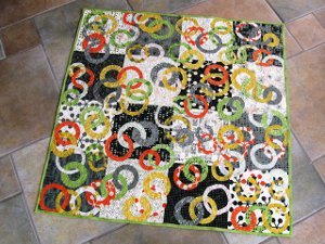 Ring Around the Baby Quilt