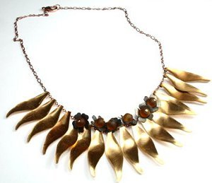 Fall Foliage Necklace