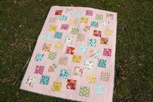 Simply Disappearing Baby Quilt