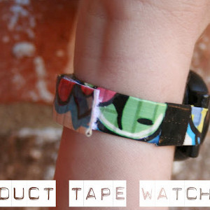 Make a Watch Band with Duct Tape
