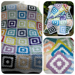 Stashbuster Granny Square Afghan