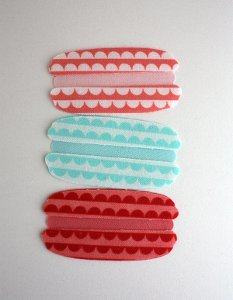 Sweet Applique French Macarons