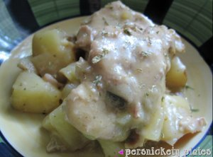 Creamy Ranch Pork Chops And Potatoes For Four