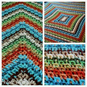 Colorful Kaleidoscope Afghan