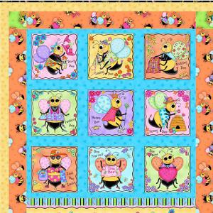 Bee Quilt Pattern | AllFreeSewing.com : bee quilt pattern - Adamdwight.com