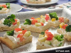 Vegetable Party Bites