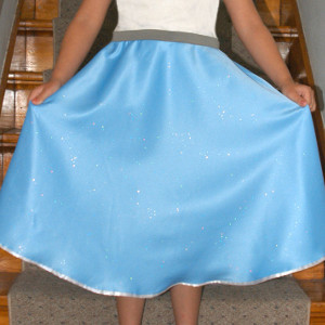 Simple Circle Skirt in Minutes