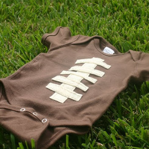 Touchdown Football Onesie