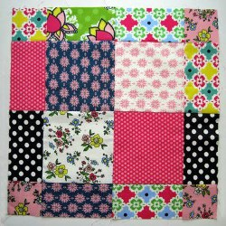 Scrappy Disappearing Nine Patch Block