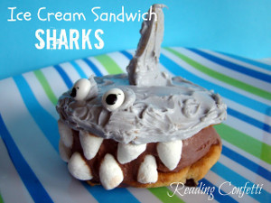 I Scream Shark Sandwiches