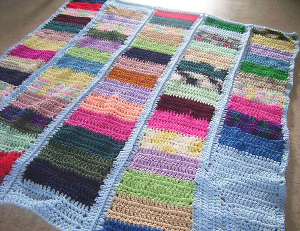Odds and Ends Afghan