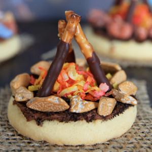 The Coolest Campfire Cookies Allfreekidscrafts Com