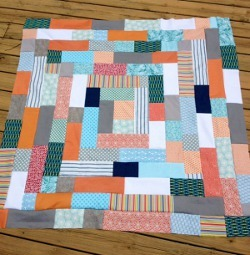 Giant Log Cabin Quilt