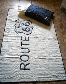 Route 66 Quilt | FaveQuilts.com : route 66 quilt pattern - Adamdwight.com
