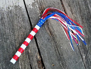 Patriotic Parade Stick