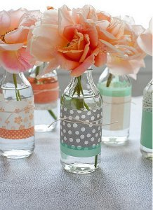 Paper Wrapping for Vases