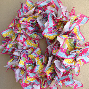 Lazy Minute Napkin Wreath
