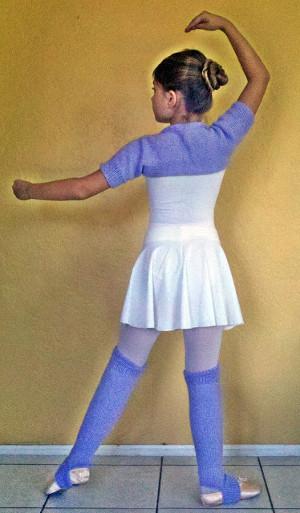 little ballerina shrug and legwarmers allfreeknitting com