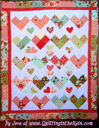 The 18 Best Heart Quilt Patterns For Valentine S Day Favequilts Com