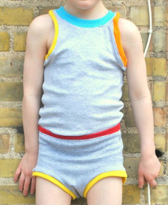 Matching Boys Tank and Undies