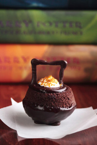 Chocolatey Cauldron Cakes