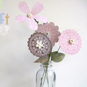 Pastel Paper Flower Bouquet