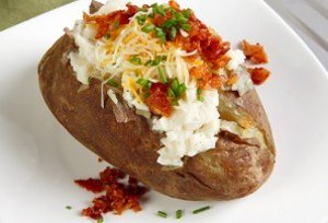 Simply Easy Baked Potatoes