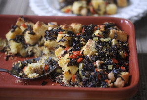 Cornbread and Wild Rice Stuffing