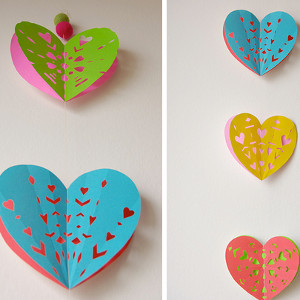 Easy Hearts Garland