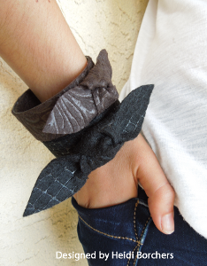 Recycled Felt and Plastic Cuffs