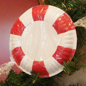 Paper Peppermint Ornament