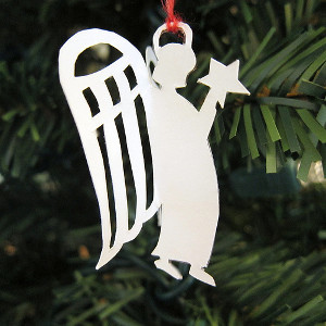 Easy Paper Angel Ornament