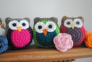 Free Amigurumi Owl Pattern : How to crochet owls crochet owl patterns allfreecrochet