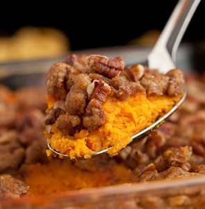 Sweet Potato Casserole with Brown Sugar Crumble
