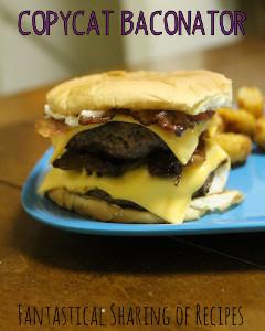 wendy s baconator burger clone allfreecopycatrecipes com