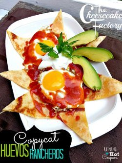 Copycat Cheesecake Factory Huevos Rancheros
