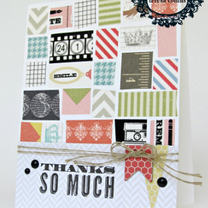 Easy Washi Tape Cards