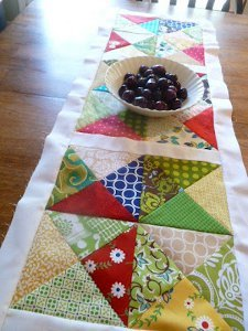 Chopped Up Charms Table Runner