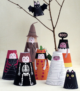 17 Adorable Halloween Paper Crafts For Kids And Adults