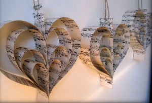 Wedding Hearts Garland