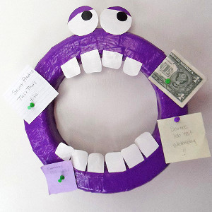 Monster Wreath Organizer