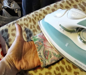 DIY Ironing Glove