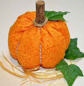 Fun Fabric Pumpkins