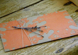 Fall Doily Envelope