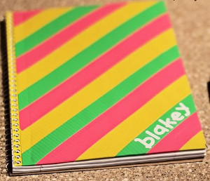 Personalized Duct Tape Notebooks