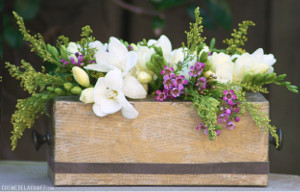 Rustic Recycled Flower Box