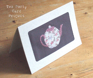 Scrappy Tea Pot Card