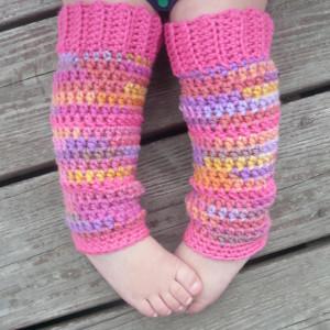 Bubblegum Baby Leg Warmers Allfreecrochet Com